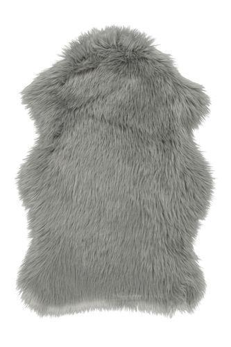 Shaaffell Sheepskin Hochflor Shaggy Teppich Flauschig Hochwertig Grau Wohnzimmerteppich Esszimmerteppich Teppichläufer Flur-Läufer Verschied. Farben 002
