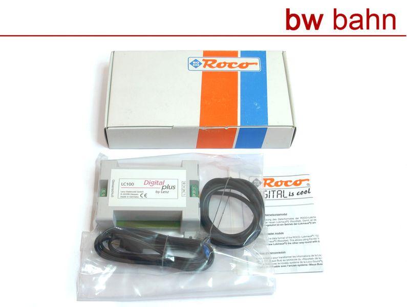 Roco / Lenz H0 10759 Datenbus-Übersetzungsmodul LC100 Neu