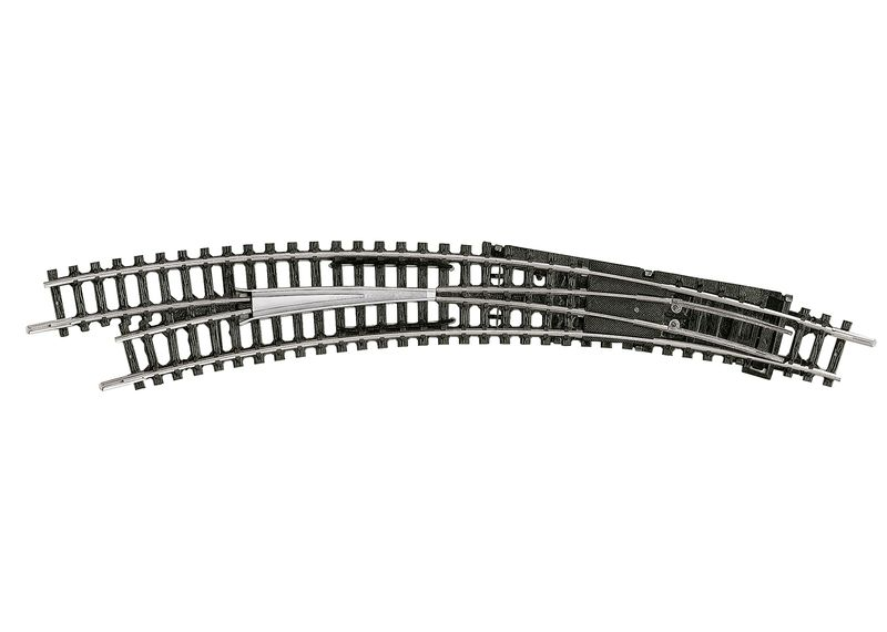 Minitrix Spur N 14947 Bogenweiche Links R3/R4