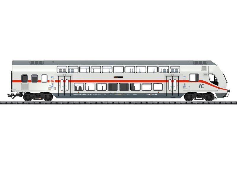 Trix H0 23250 IC2 Doppelstock-Steuerwagen 2. Klasse der DB