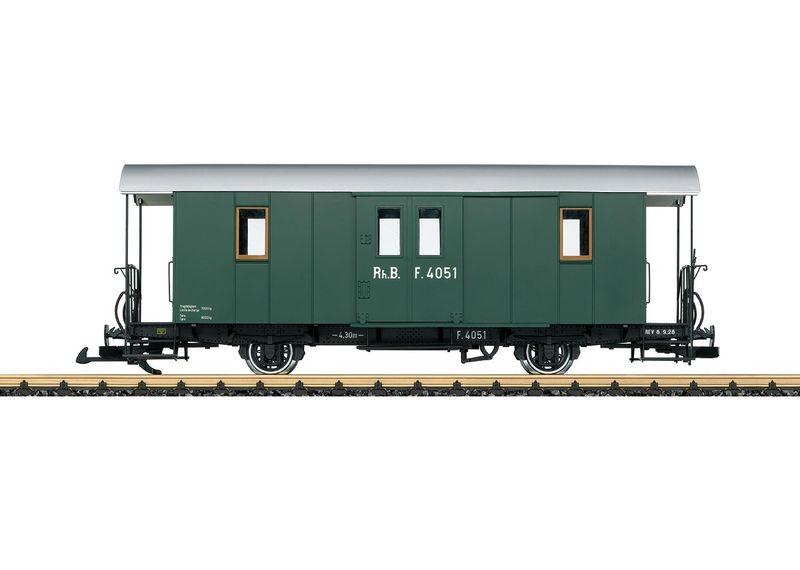 LGB G (Schmalspur) 33403 RhB Gepäckwagen F 4051