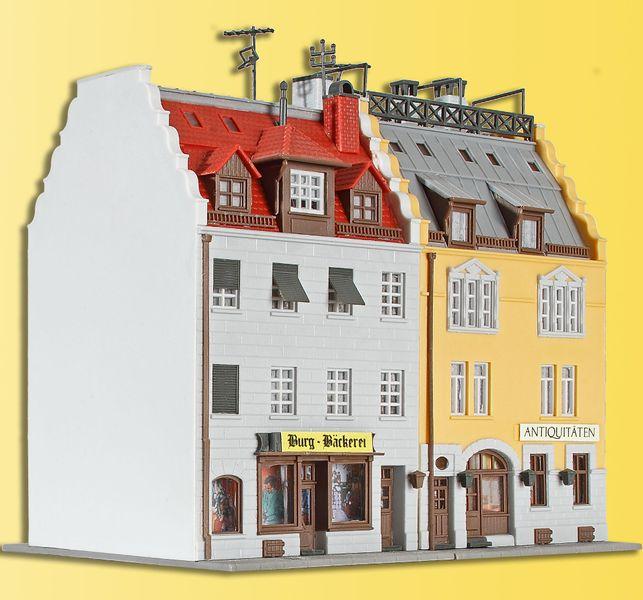 Kibri 37163 N Stadthäuser um 1900, 2 Stück