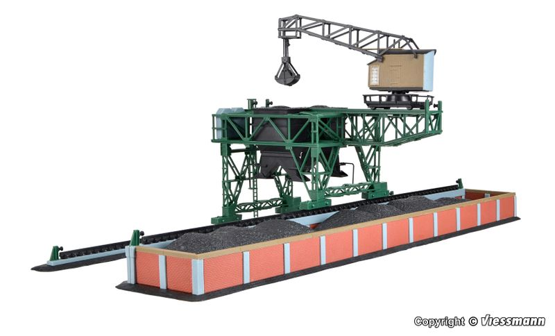 Kibri Spur N 37442 Bausatz Großbekohlungsanlage