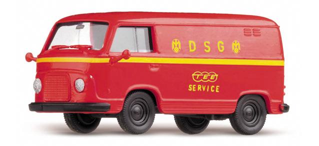 Roco minitanks H0 6007 Ford FK 1000 TEE  DSG Service /Herpa 742023