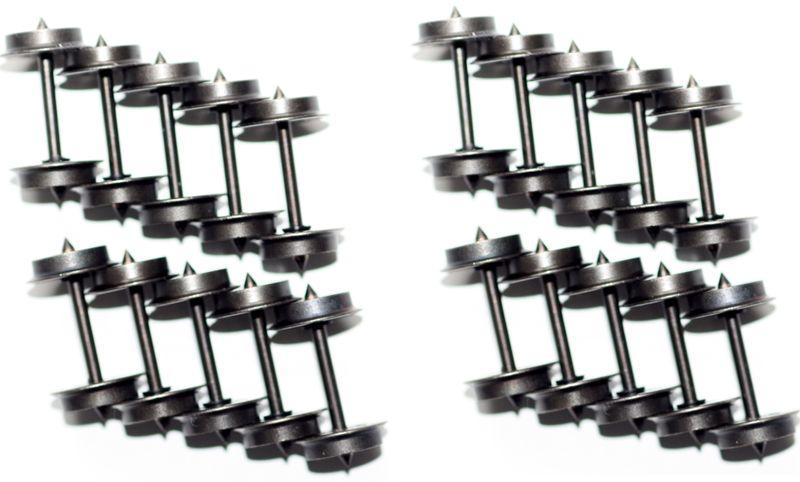 [Paket] 20 x Märklin H0 700580 Gleichstromradsatz