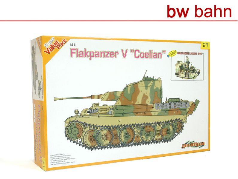 cyber-hobby Dragon 1:35 Bausatz 9121 Flakpanzer V Coelian Panzer Wehrmacht WWII