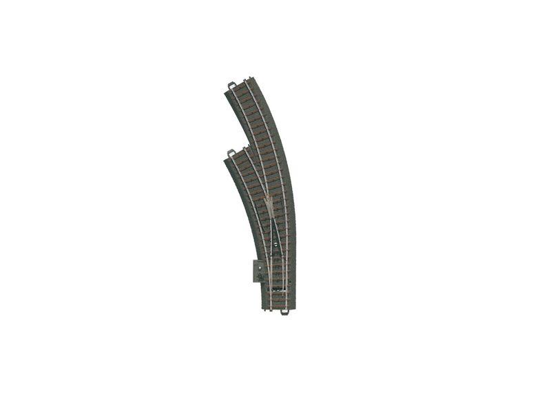 Märklin H0 20671 C-Gleis mit Bogenweiche links