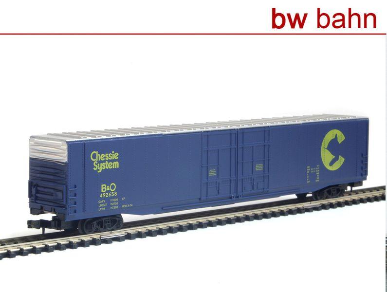 Arnold Spur N 5324 US Box Car Baltimore and Ohio Railroad B&O Chessie Systems