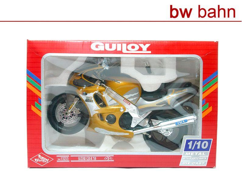 Guiloy 1:10 13253 Suzuki CSX-R 750 Motorrad Fertig-Modell