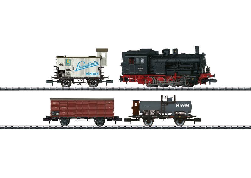 Minitrix Spur N 11631 Zug-Set Gütertransport der DRG