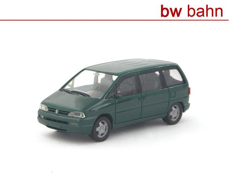 Herpa H0 021654 Peugeot 806 - grün