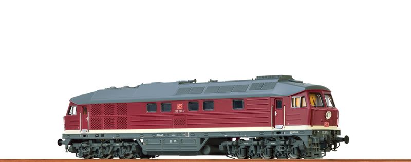 BRAWA Spur H0 41449 Diesellok 232 DB AG, V, AC Dig. EXTRA