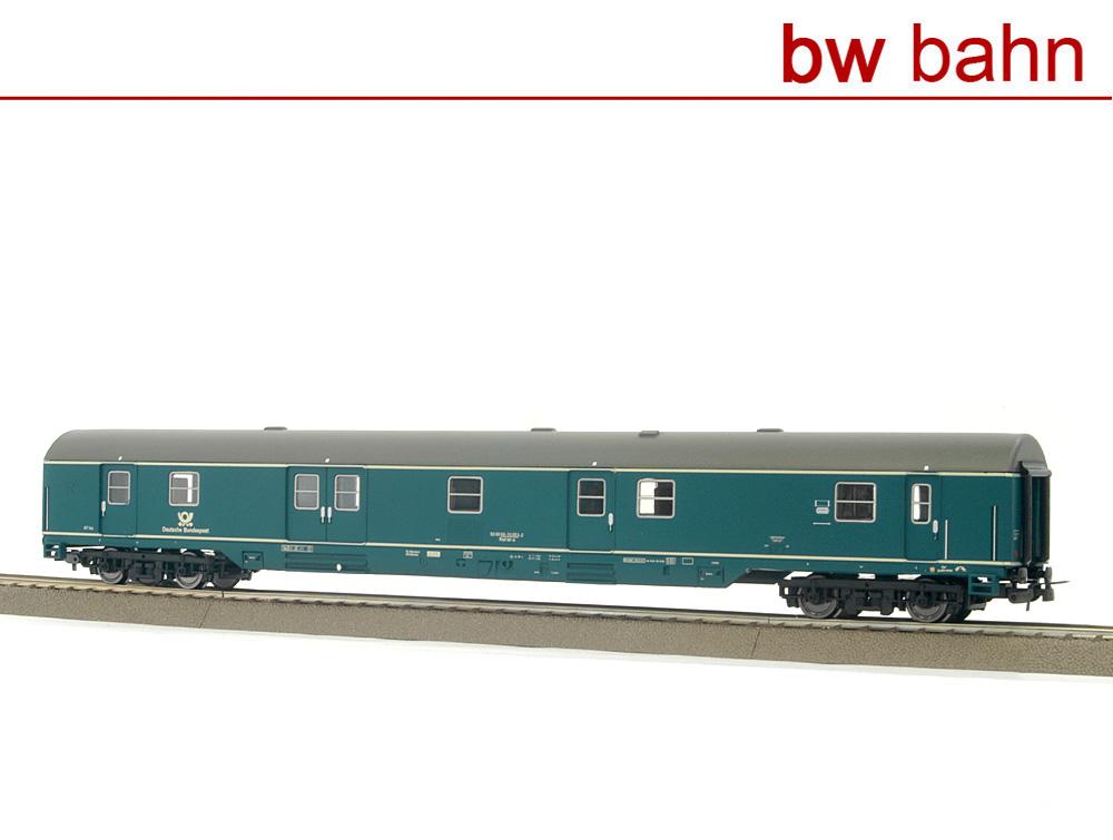 blau Sachsenmodelle H0 14695 Bahnpostwagen Post mr-a DBP Ep 4