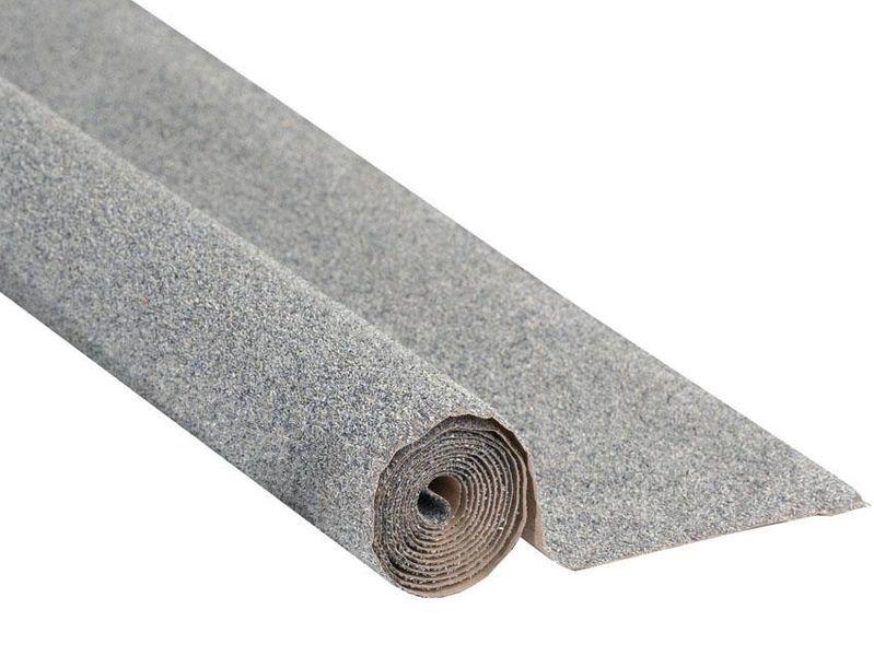 NOCH 00080 Spur G,0,H0,TT,N,Z Schottermatte, grau, 120 x 60 cm