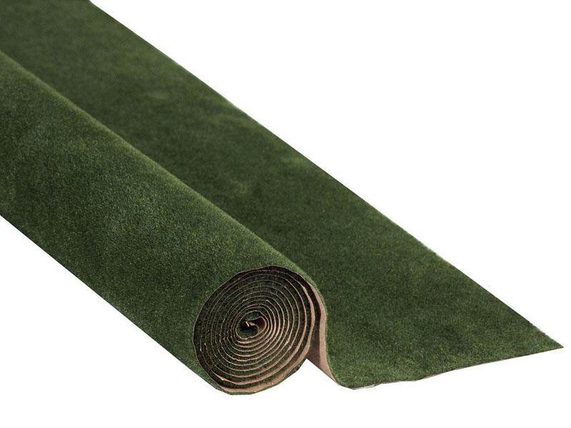 NOCH 00230 Spur G,0,H0,TT,N,Z Grasmatte, dunkelgrün, 120 x 60 cm