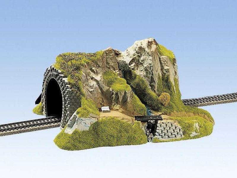 NOCH 02200 Spur H0 Tunnel 1-gleisig, gerade, 34 x 27 cm