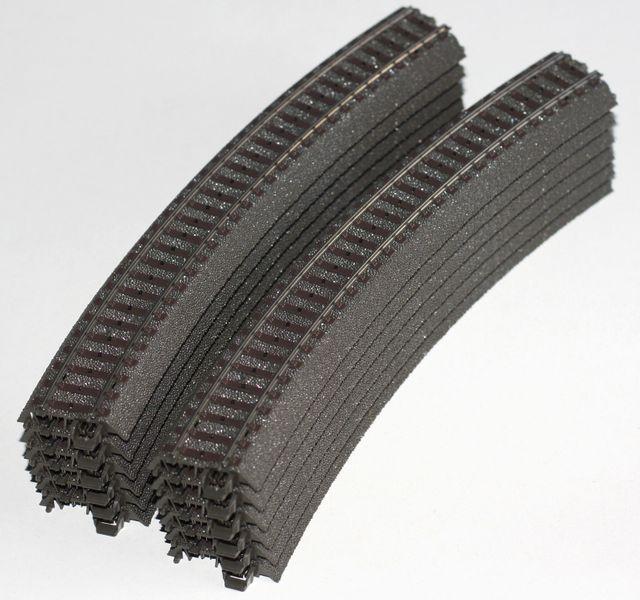 [Paket] Märklin H0 24230 12 gebogene C-Gleise Parallelkreis R 2