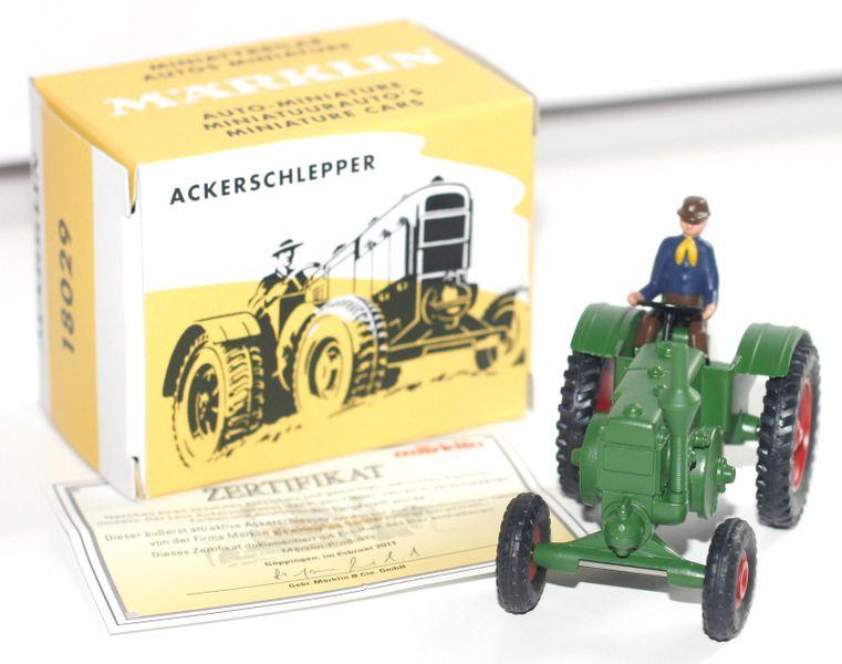 Märklin 18029 Lanz Ackerschlepper Traktor Replika Insidermodell von 8029 Neu
