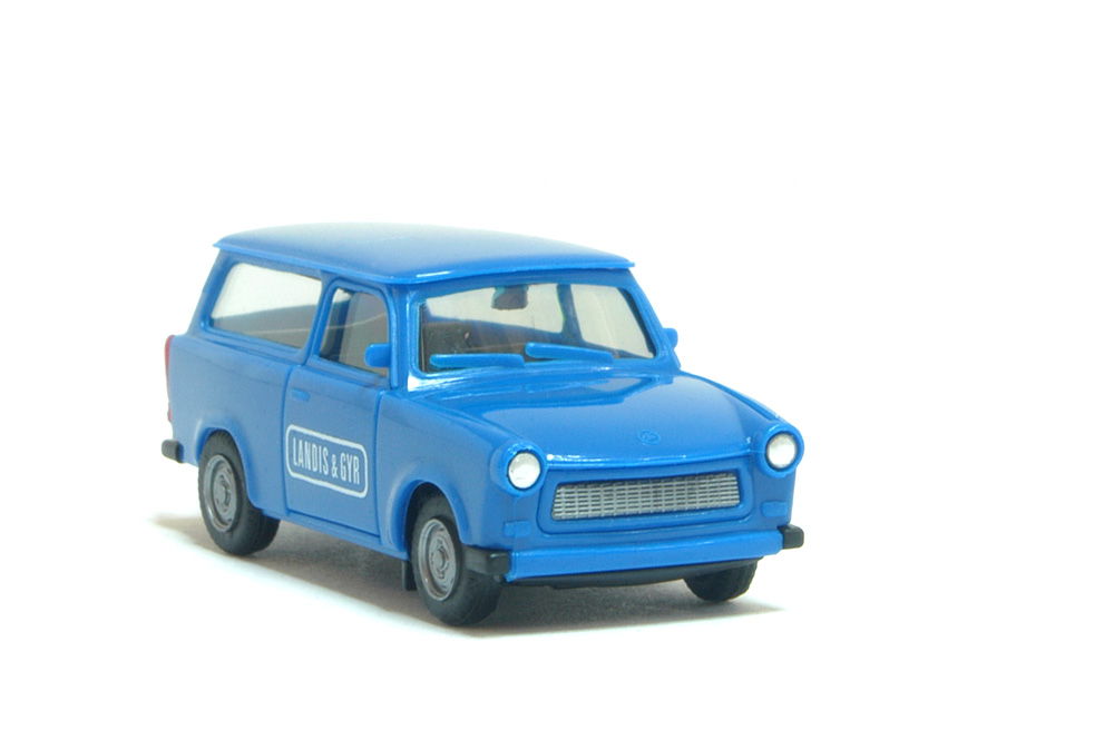 herpa h0 1 87 trabant trabi 601 kombi landis gyr neu ebay. Black Bedroom Furniture Sets. Home Design Ideas