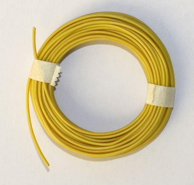 Märklin 7103 Kabel Gelb 10 Meter Einadrig