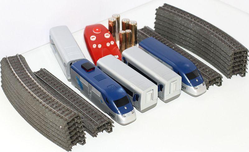 [Paket] Märklin H0 29204 Batterie-Startpackung US-Hochgeschwindigkeitszug
