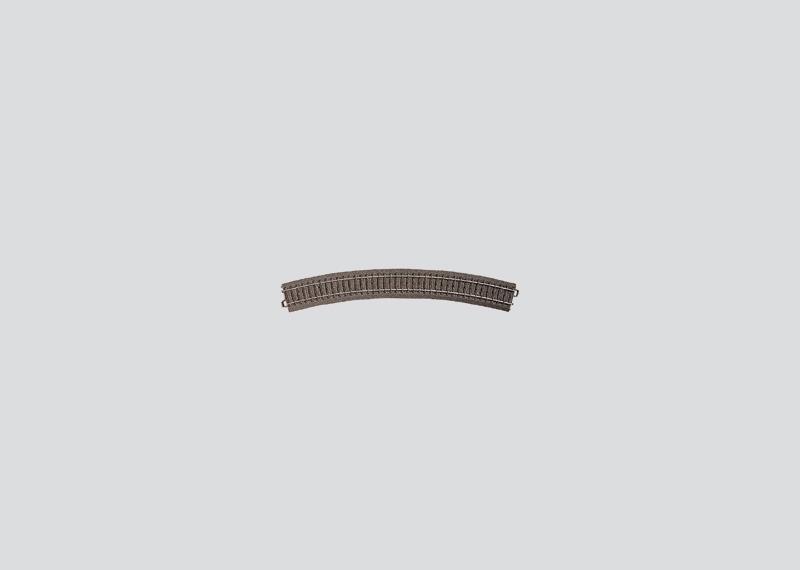 Märklin H0 24430 gebogenes C-Gleis Radius 4
