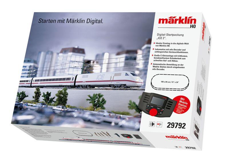 [Paket] Märklin H0 29792 Startpackung ICE 2