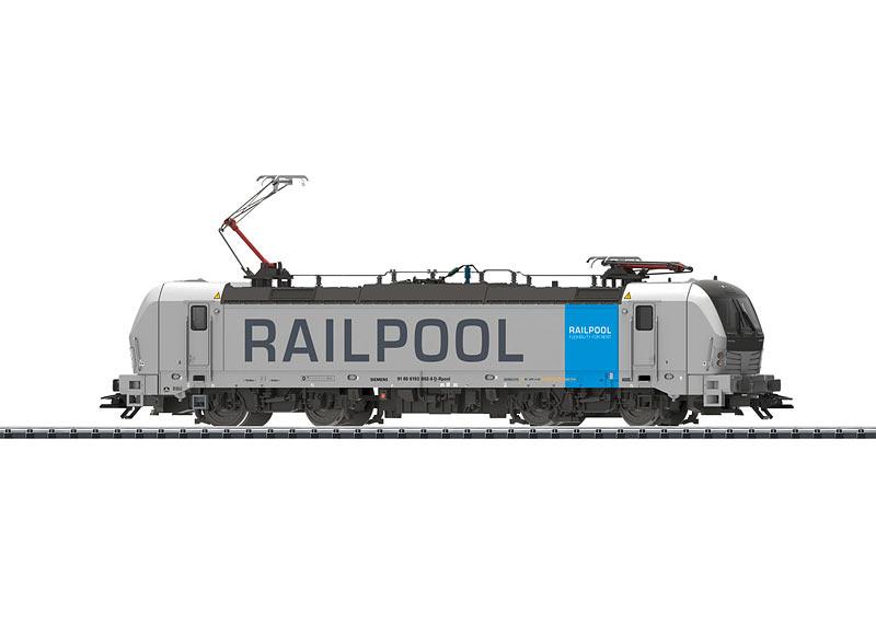 Trix H0 22190 Elektrolokomotive BR 193 der Railpool