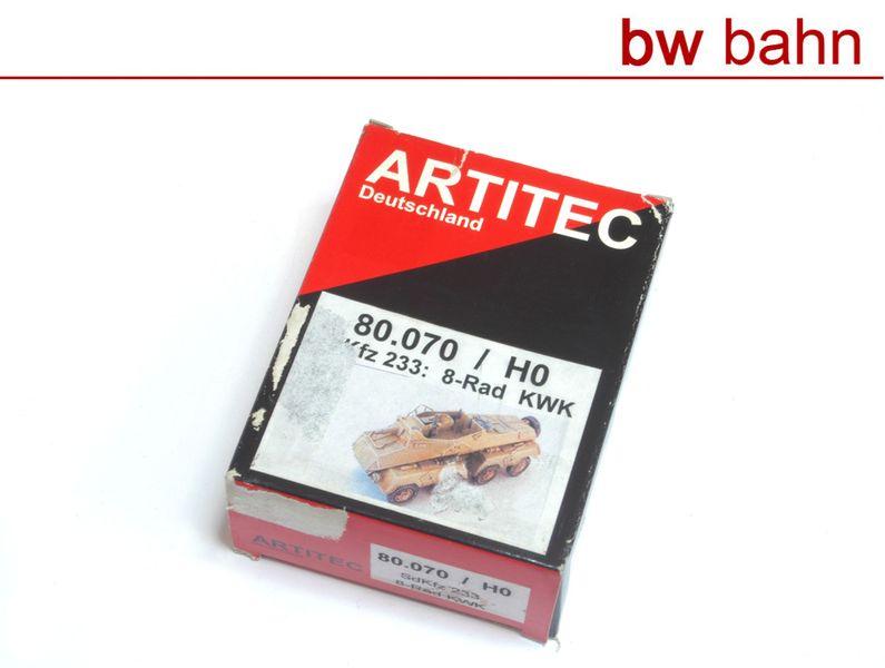 Artitec H0 80.070 Bausatz SdKfz 233: 8-Rad KWK Panzerspähwagen Neu B-WARE