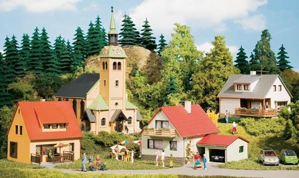 Auhagen 15201 Startset Dorf Waldkirchen