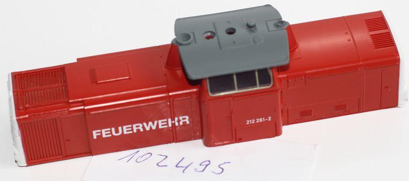 Märklin H0 102495 Gehäuse / Aufbau für Diesellok BR 212 Feuerwehr