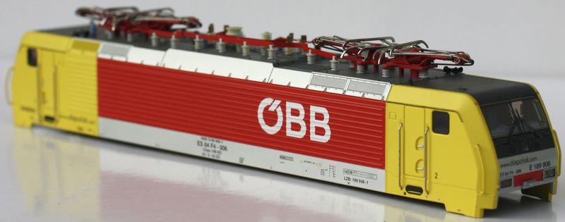 Märklin H0 115013 Gehäuse / Aufbau für E-Lok 39892 ES 64 F4 der ÖBB