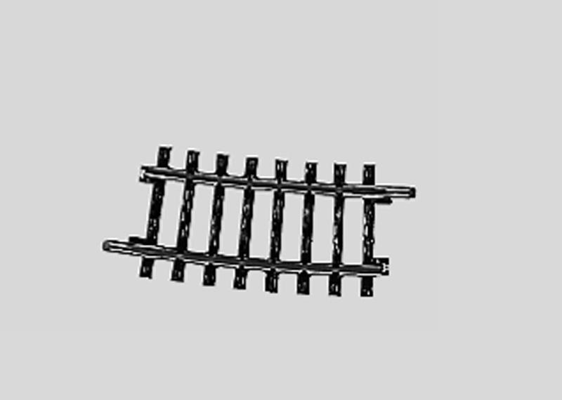 Märklin H0 2234 K-Gleis geb.r424,6 mm,7 Gr.30'