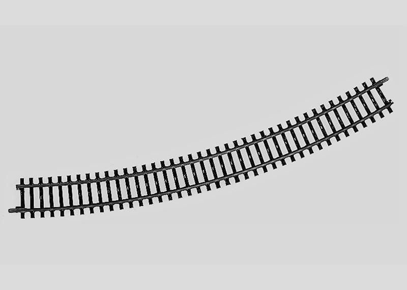 Märklin H0 2241 K-Gleis geb.r553,9 mm,30 Gr.