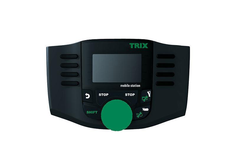 Trix H0 66955 Mobile Station 2 schwarz in OVP