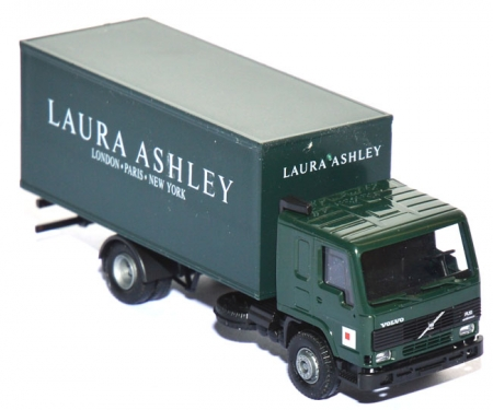 Roco H0 1583 Volvo FL 10 Koffer-Lkw, grün - Laura Ashley