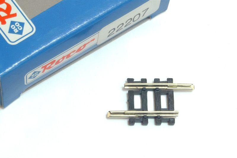 Roco Fleischmann Spur N 22207 Gleis gerade 17,2 mm Neu