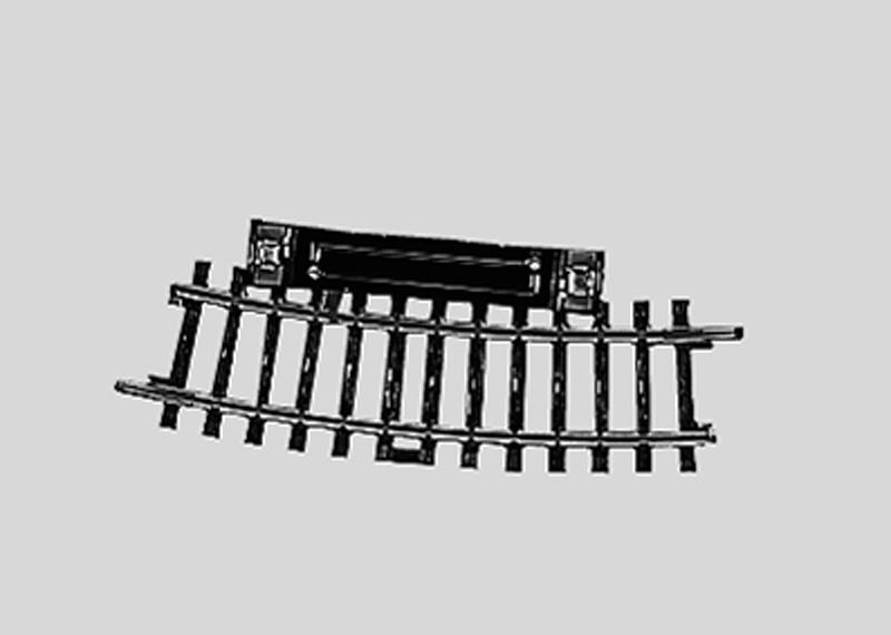 Märklin H0 2229 K-Gleis Schaltgleis gebogen, Radius 360 mm,15°