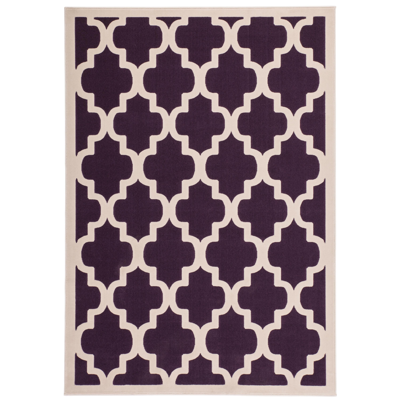 kurzflor flachflor teppich designer modern wohnzimmer teppiche lila geometrisch moderne teppiche. Black Bedroom Furniture Sets. Home Design Ideas