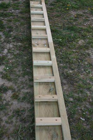 [4 Meter] EVOY Kiefer einseitig – Bild 4
