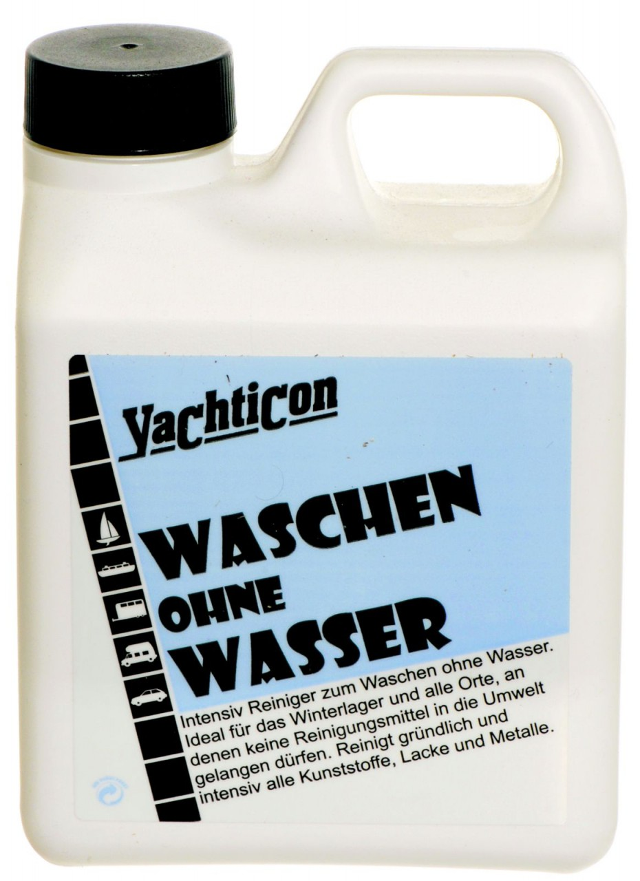yachticon waschen ohne wasser 1 liter. Black Bedroom Furniture Sets. Home Design Ideas