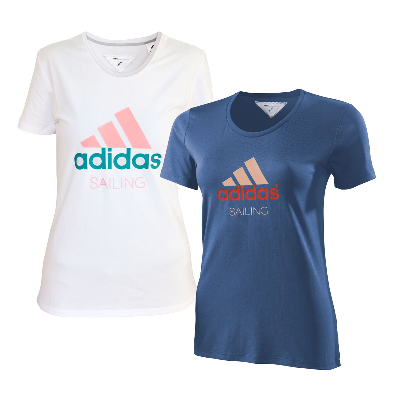 adidas sailing performance logo shirt women 39 s t shirt outdoor sports. Black Bedroom Furniture Sets. Home Design Ideas