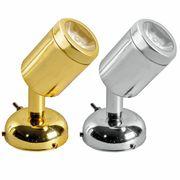 Osculati Messing LED Leselampe mit Schalter 3 Watt - schwenkbar 001