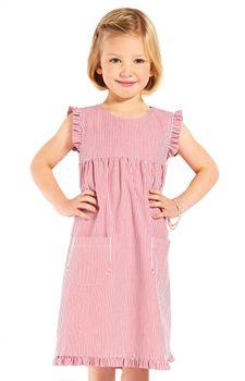 Modas Kinderkleid gestreift – Bild 8