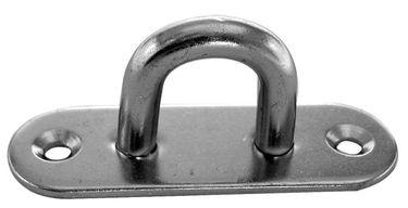 Sprenger Edelstahl Augplatte Decksplatte oval