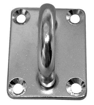 Sprenger Edelstahl Augplatte Decksplatte rechteckig
