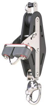 Sprenger Violinblock 14 mm mit Patentschäkel und Schotklemme