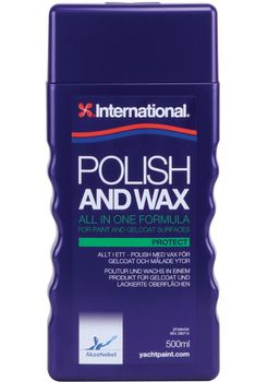 International Polish and Wax 500ml