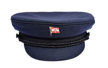 MADSea Elbsegler Kapitänsmütze mit Pin Bremer Flagge – Bild 4