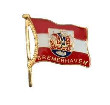 MADSea Elbsegler mit Pin Bremerhaven Flagge – Bild 2